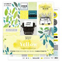COLLECTION DE PAPIERS IMPRIMES - Yellow