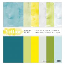 COLLECTION DE PAPIERS UNIS - Yellow