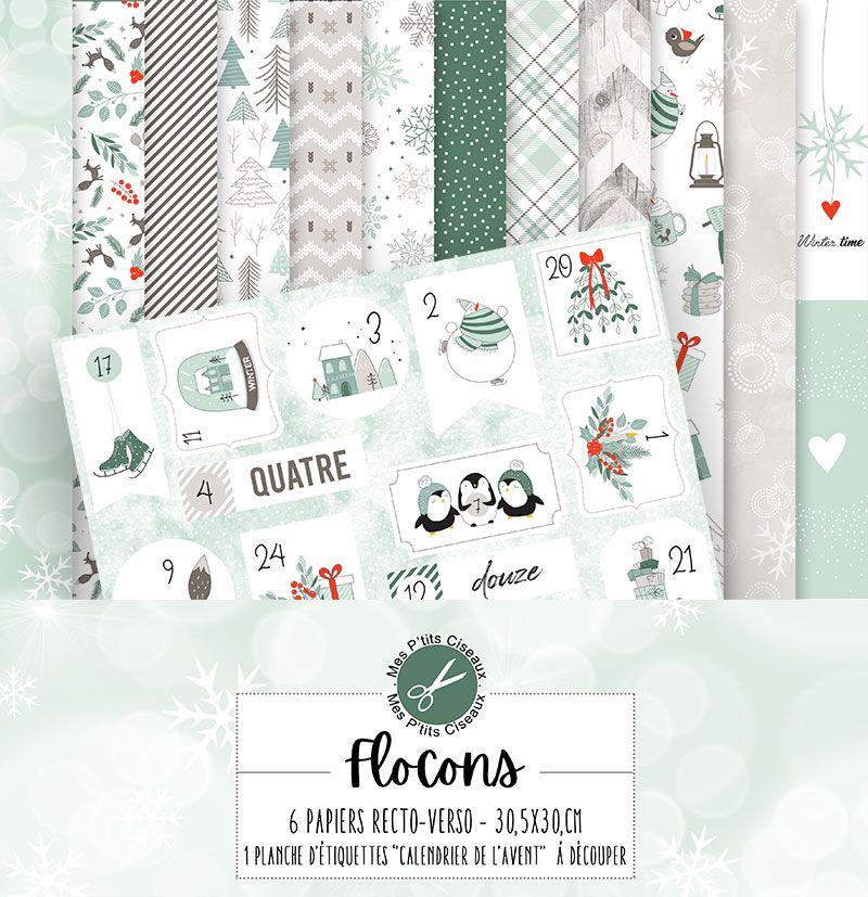 Collection Flocons - Mes Ptits Ciseaux
