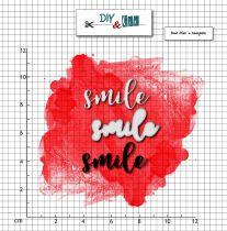 COMBO DIES ET TAMPON TRANSPARENT - Smile