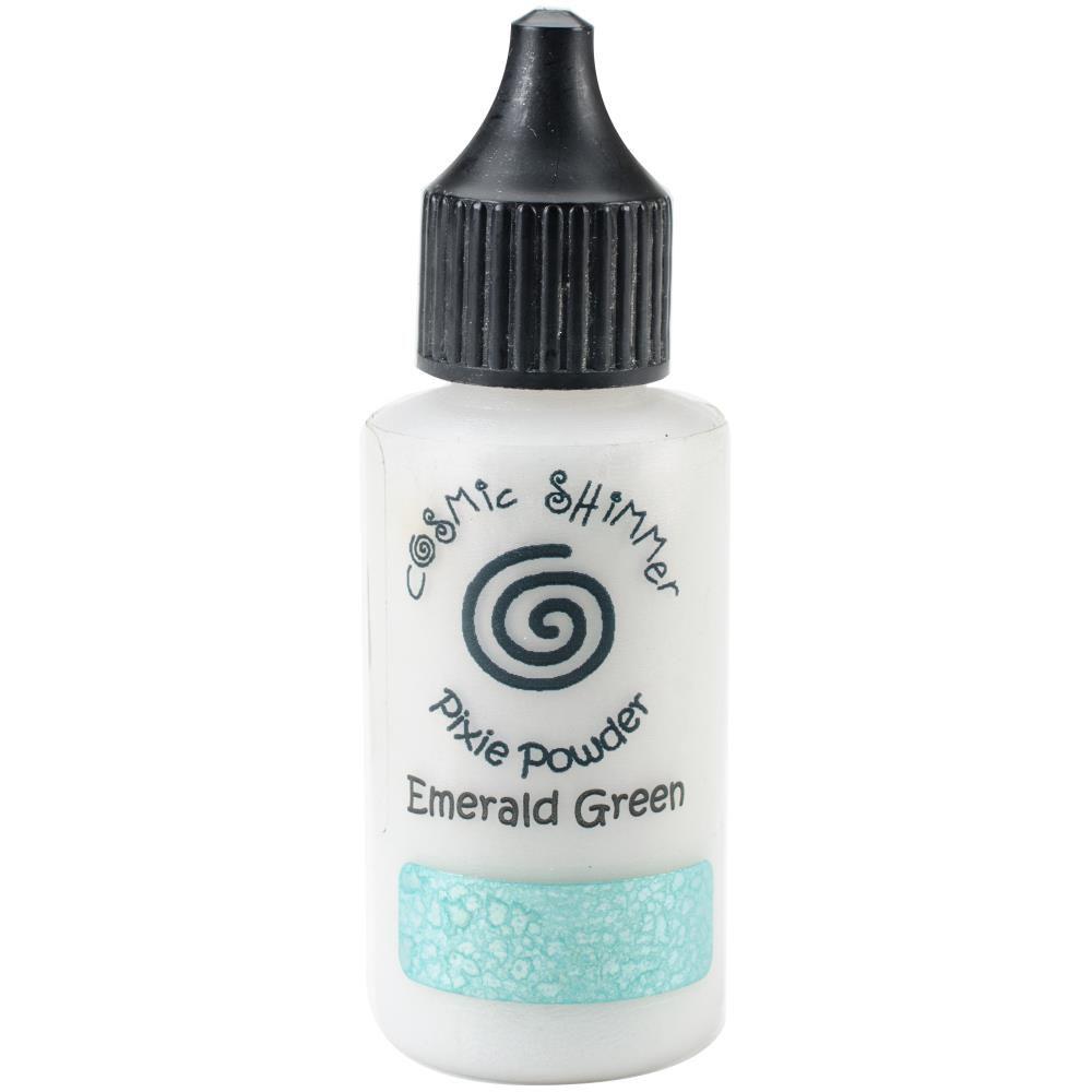 COSMIC SHIMMER PIXIE POWDER - Emerald Green