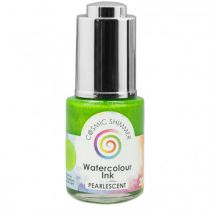 COSMIC SHIMMER WATERCOLOUR INK PEARLESCENT- Lime Sherbet