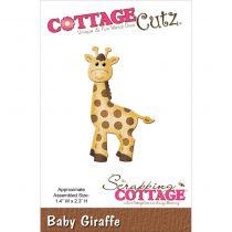 Cottage Cutz Die Baby Giraffe