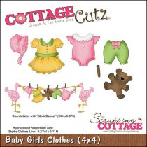 Cottage Cutz Die Baby Girls Clothes