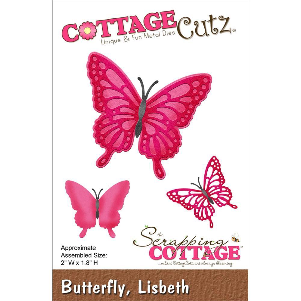 Cottage Cutz Die Butterfly Lisbeth