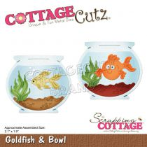 Cottage Cutz Die Goldfish & Bowl
