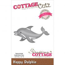 Cottage Cutz Die Happy Dolphin