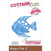 Cottage Cutz Die Happy Fish 2