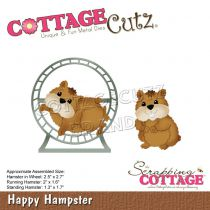 Cottage Cutz Die Happy Hampster