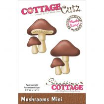 Cottage Cutz Die Mushrooms Mini