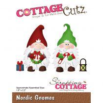 Cottage Cutz Die Nordic Gnomes