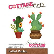 Cottage Cutz Die Potted Cactus