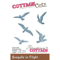 Cottage Cutz Die Seagulls in Flight