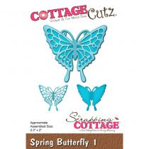Cottage Cutz Die Spring Butterfly