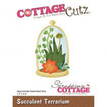Cottage Cutz Die Succulent Terrarium