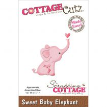 Cottage Cutz Die Sweet Baby Elephant