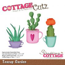 Cottage Cutz Die Teacup Garden