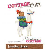 "Cottage Cutz Die Traveling Llama 2.2\""X3\"""