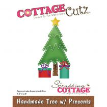 CottageCutz Die Handmade Tree W/Presents