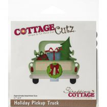 CottageCutz Die Holiday Pickup Truck