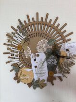 COURONNE A DECORER MDF 3 MM STYLE ROTIN