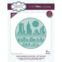 CRAFT DIES CIRCLE SCENES - City Skyline