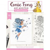 Crafter\'s Companion Clear Stamps By Conie Fong - Snowflake wishes