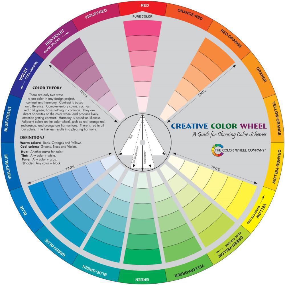 Creative Color Wheel - roue chromatique