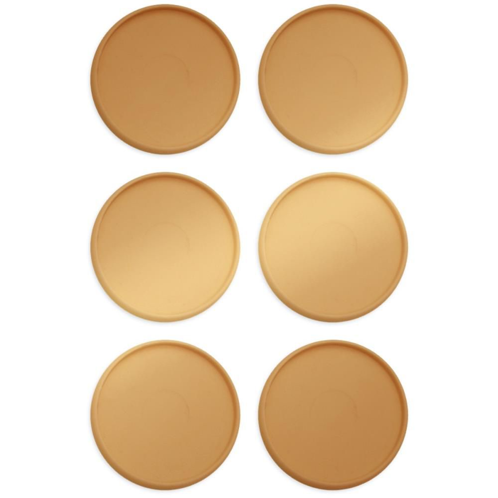 Crop-A-Dile Power Punch Planner Discs 9/Pkg - gold