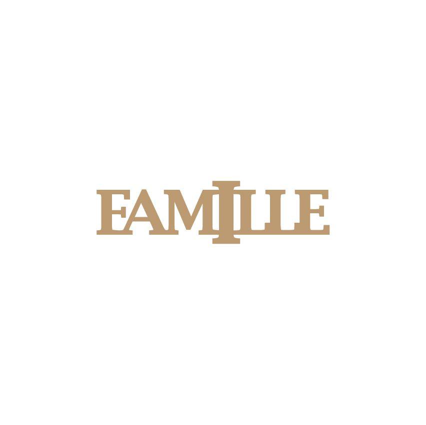 DECO MOT MDF 3 MM FAMILLE
