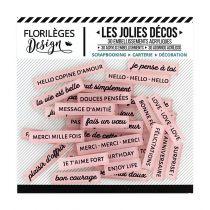 DECOS - Mots Doux Rose Thé