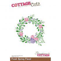 DIE - Fresh Spring Floral