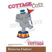 "Die Balancing Elephant 1.9\""X3\"""