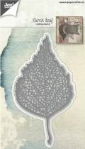 Die birch leaf