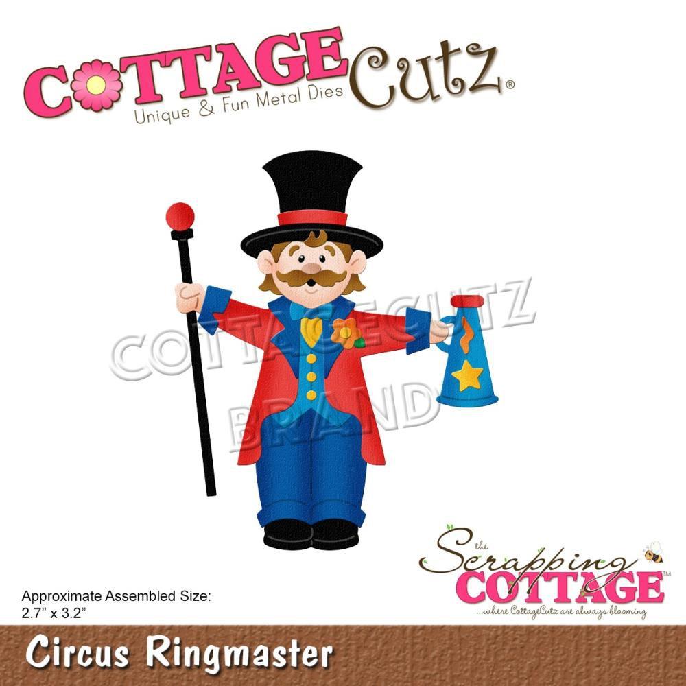 """Die Circus Ringmaster 2.7\""""X3.2\"""""""