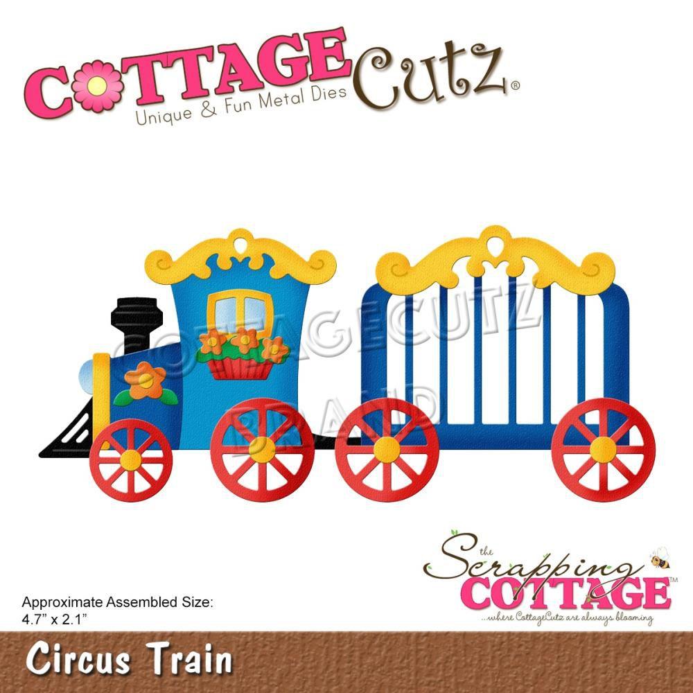 """Die Circus Train 4.7\""""X2.1\"""""""