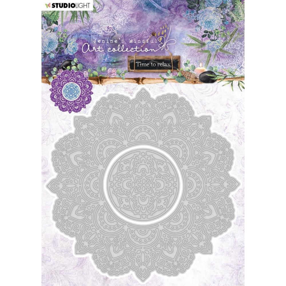 Die collection Time To Relax - Nr.12, Mandala