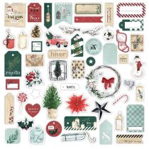 Die cuts imprimés OH WINTER