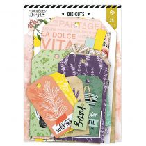 Die cuts Tags DOLCE VITA