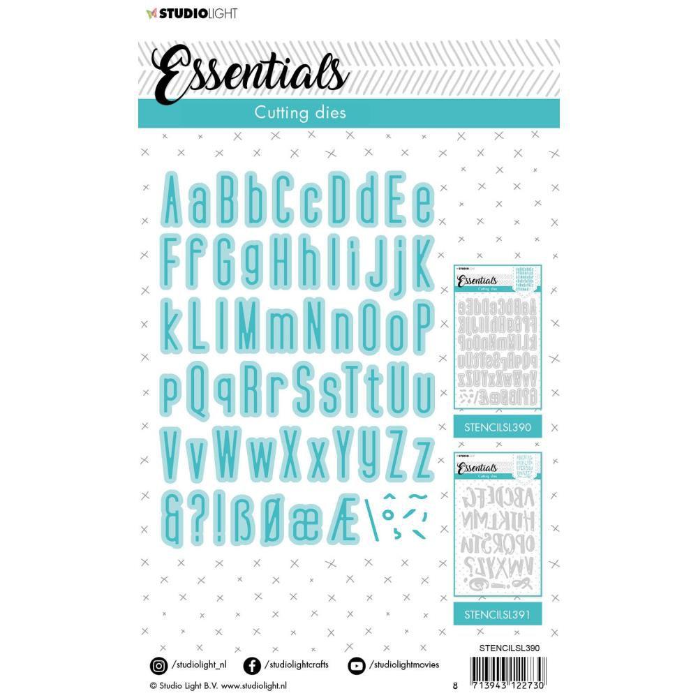 DIE ESSENTIALS - ALPHABET N°390