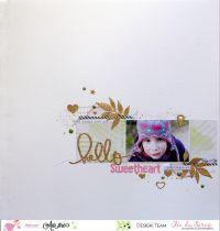 DIE FEUILLE DELICATE -054