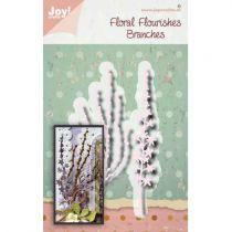 Die Floral Flourishes Branches
