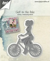 Die girl on the bike