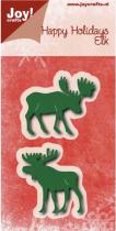 Die happy holidays elk