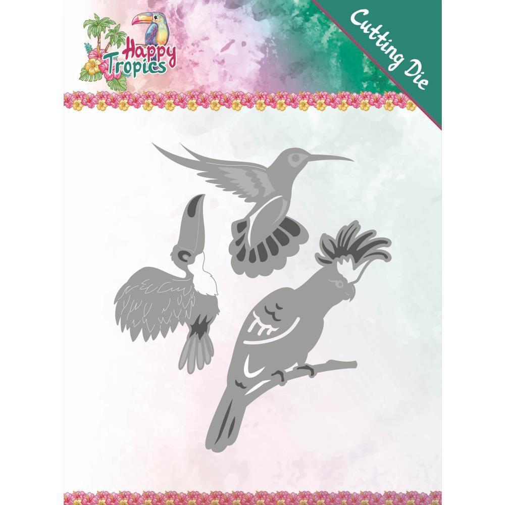 DIE HAPPY TROPICS - Exotic Birds