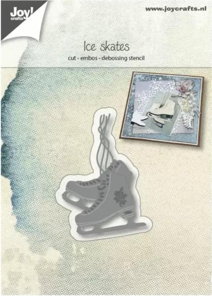 Die ice skate