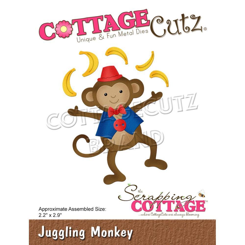"""Die Juggling Monkey 2.2\""""X2.9\"""""""