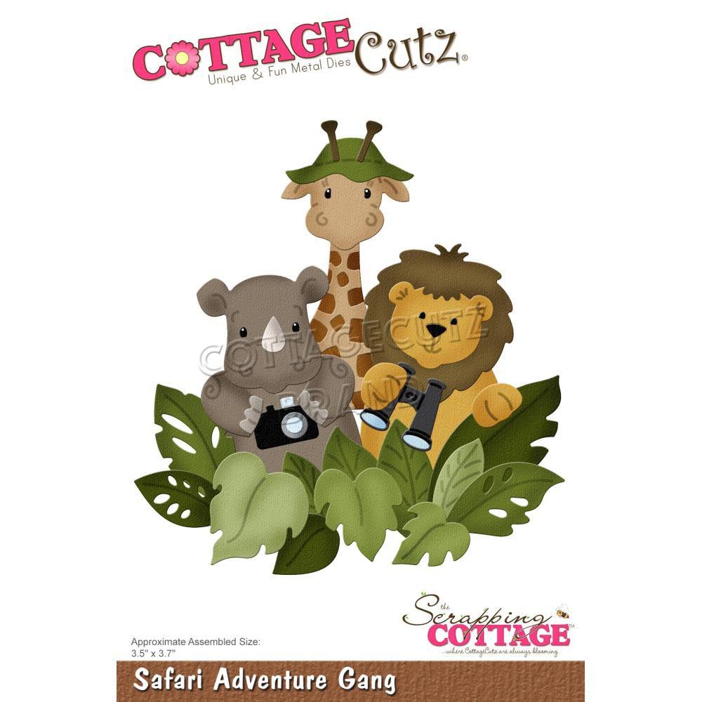 DIE Safari Adventure Gang - animaux