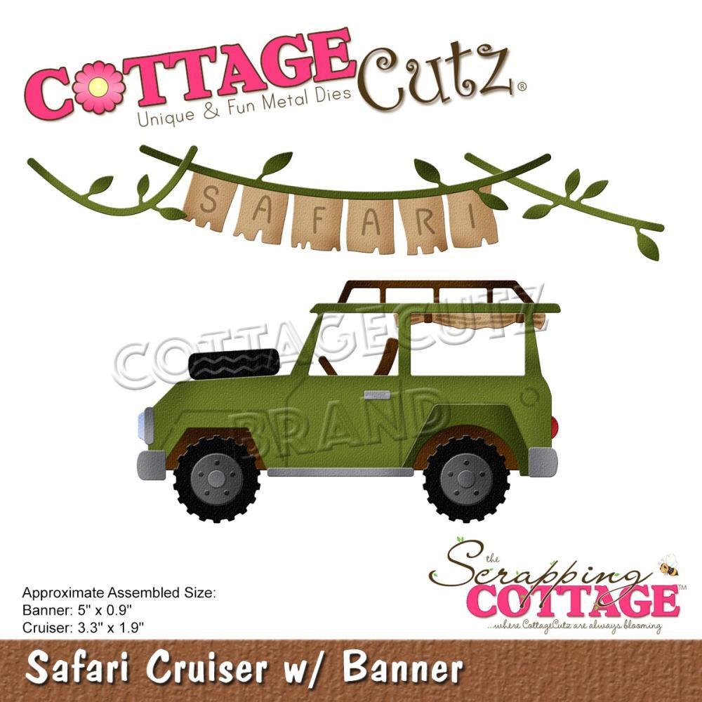 DIE Safari Cruiser with Banner - voiture