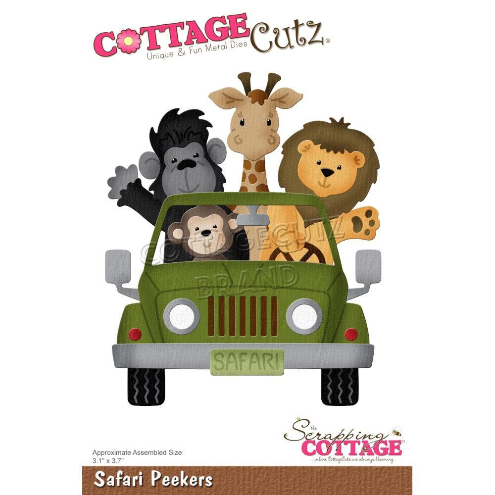 DIE Safari Peekers - voiture